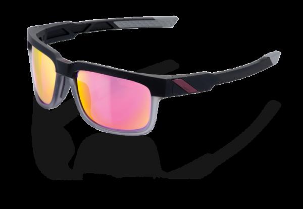 Type S Sonnenbrille - Mirror Lense - Soft Tact Graphite