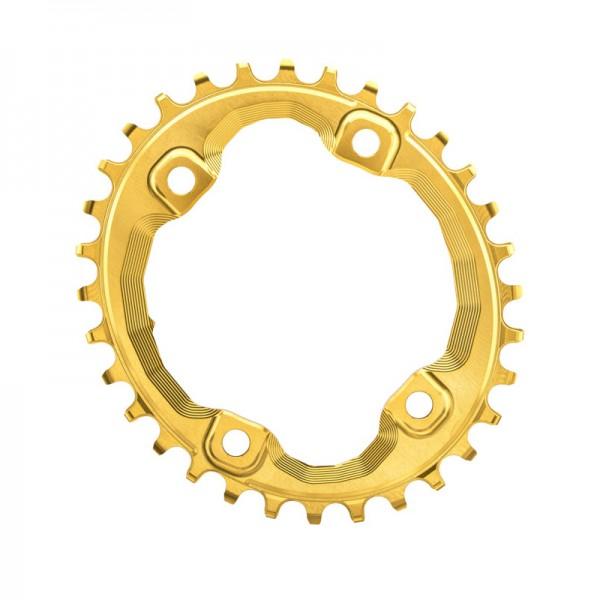 Shimano XT M8000 / SLX M7000 Kettenblatt - Oval - gold