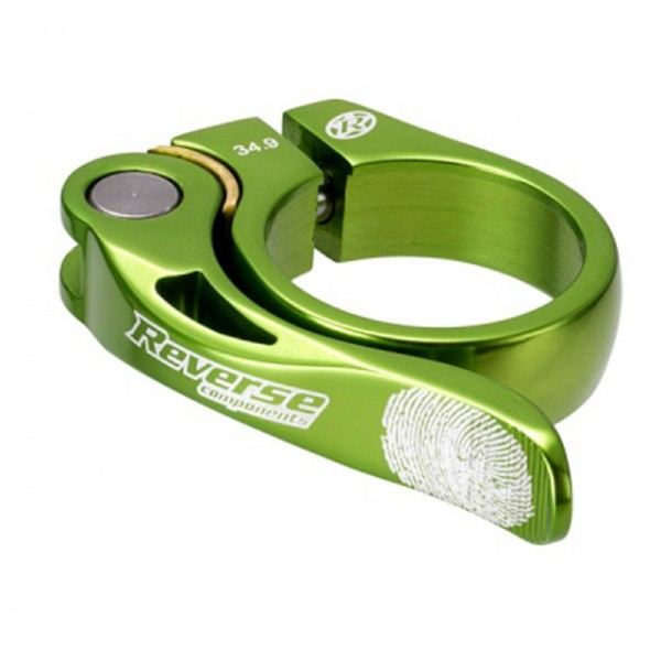 Long Life Sattelklemme 34,9mm - light green