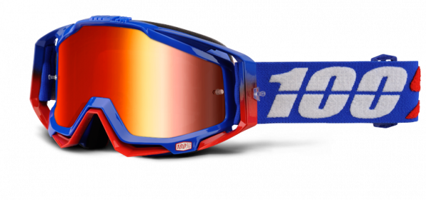 Racecraft Goggle Anti Fog Mirror Lens - Republic
