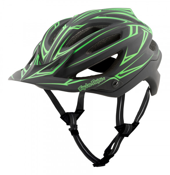 A2 MIPS Helm Pinstripe Black/Green