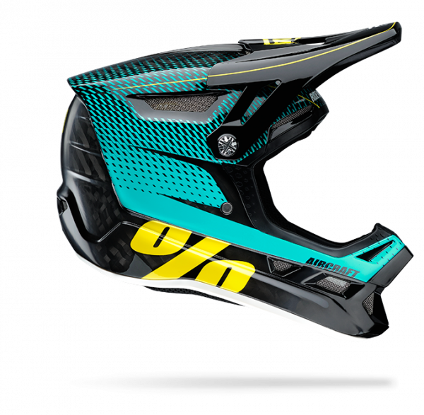 Aircraft Mips Fullface Helm - R-Core Teal