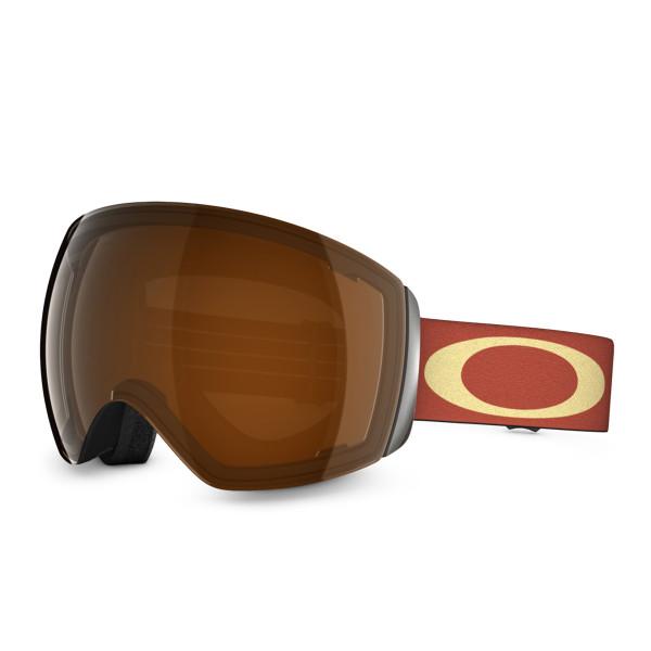 Flight Deck Snow Winter Goggle - Basket Case Burnt Red/Black Iridium 59-703