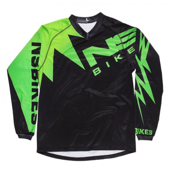 Bolt DH Jersey Black Green