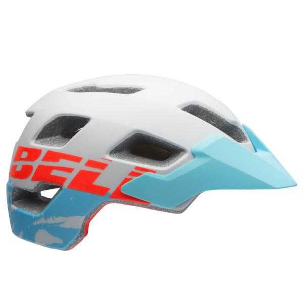 Rush MIPS Women Joy Ride 16 Helm - Matte White/Glacier Blue Sonic