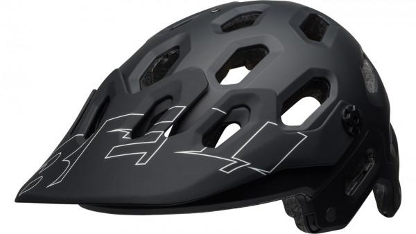 Bell SUPER 3 MIPS Helm - Black/White