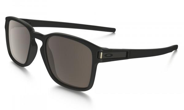 Latch Square Sonnenbrille Matte Black - Warm Gray