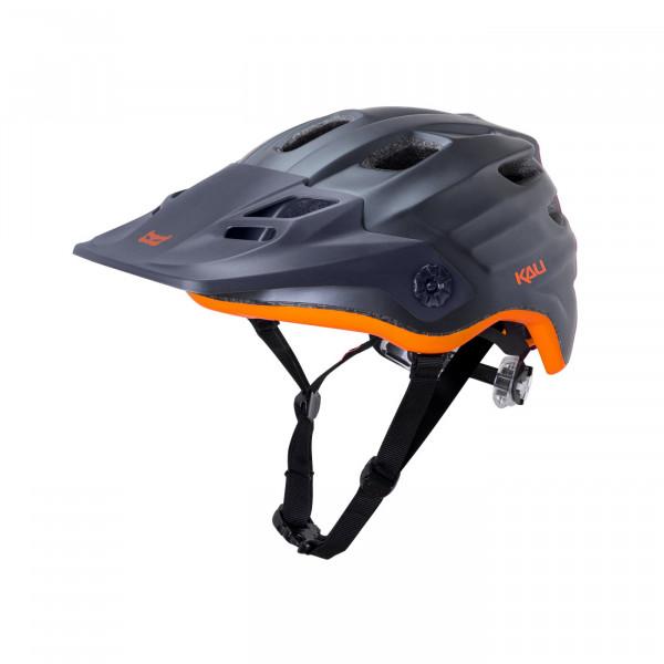 Maya All Mountain/Enduro Helm - gunmetal/orange
