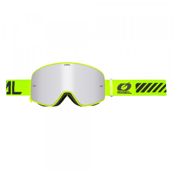 B50 Force Goggle - neon yellow - Lens mirror silver