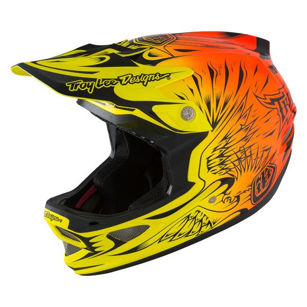 D3 Composite MIPS Fullface Helm Ravage Orange