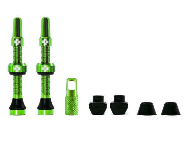 Ventile für Tubeless Reifen - Grün - Mtb & Road