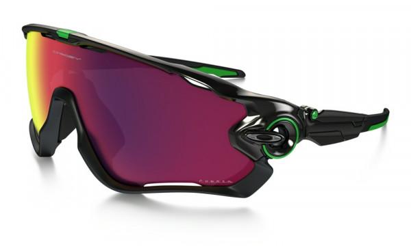 Jawbreaker Sonnenbrille - Polished Black -  Prizm Road