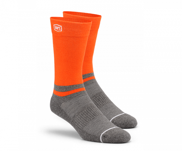 Lifestyle Socken - Block Orange