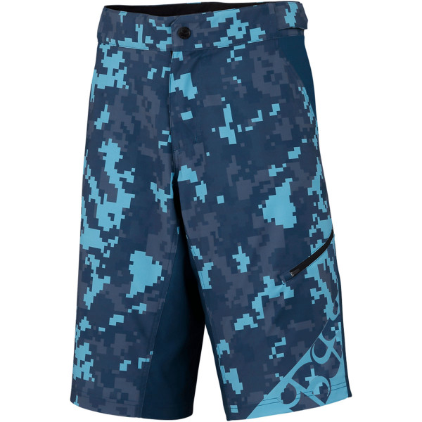 Culm Kids Shorts - Blau/Camo