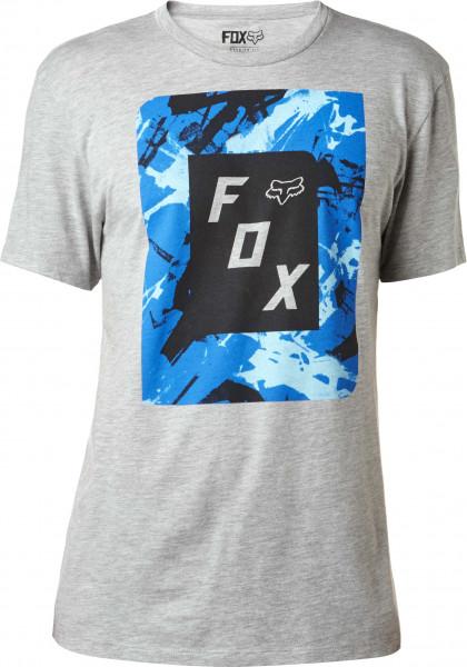 Slasher Box T-Shirt - Heahter Grey