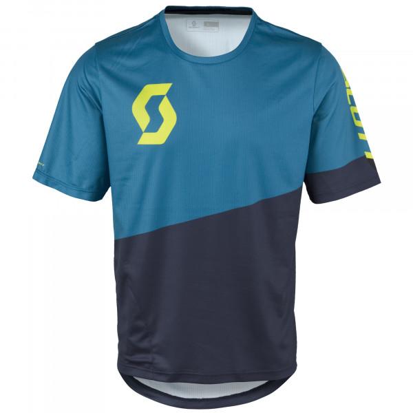 Progressive Pro S/SL Shirt Trikot Seaport Blue/Sulphur Yellow