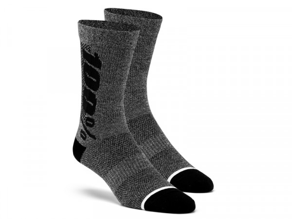 Rythym Socken - Charcoal/Heather