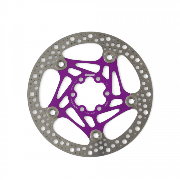 Road Rotor 160mm Bremsscheibe - purple