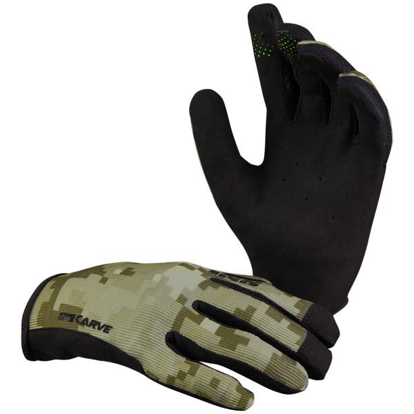 Carve Handschuhe - Camel Camo - Olivgrün