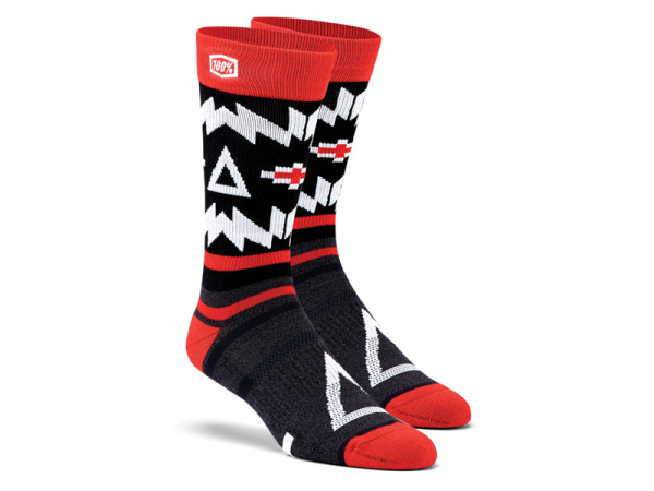 Jeronimo Athletic Socken - schwarz / rot