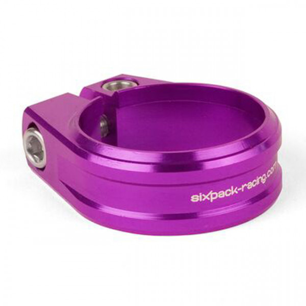 Skywalker Sattelklemme CNC Alloy 31.8mm - purple