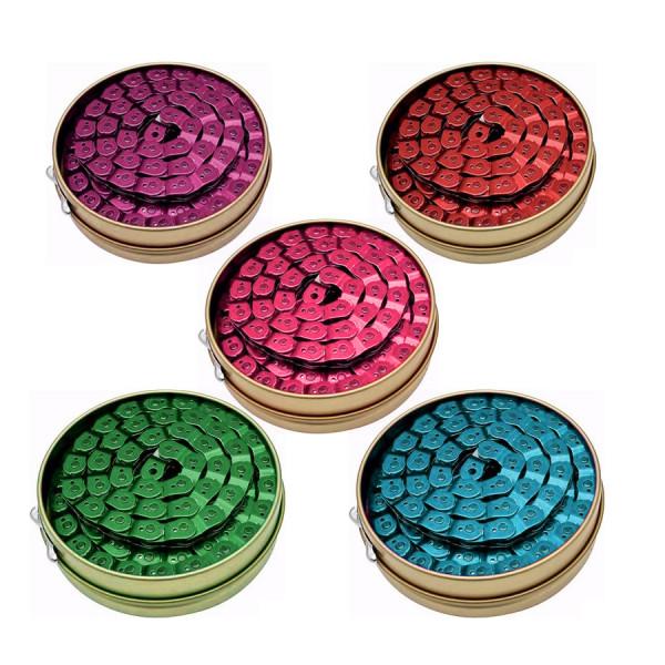 """Kette BMX - Slink Link Halflink Kette 3/32"""" - farbig"""