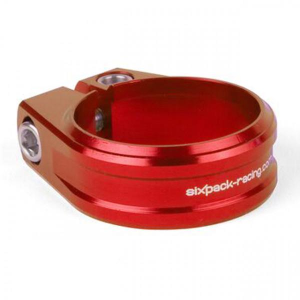 Skywalker Sattelklemme CNC Alloy 31.8mm - red