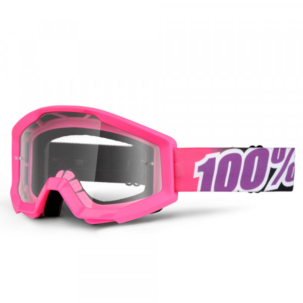 Strata MX Goggle - Bubble Gum Clear Lens