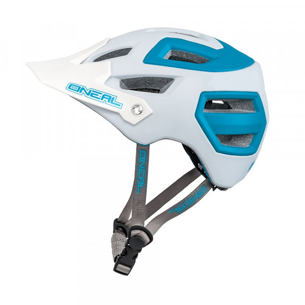 Pike Helm - matt white/blue