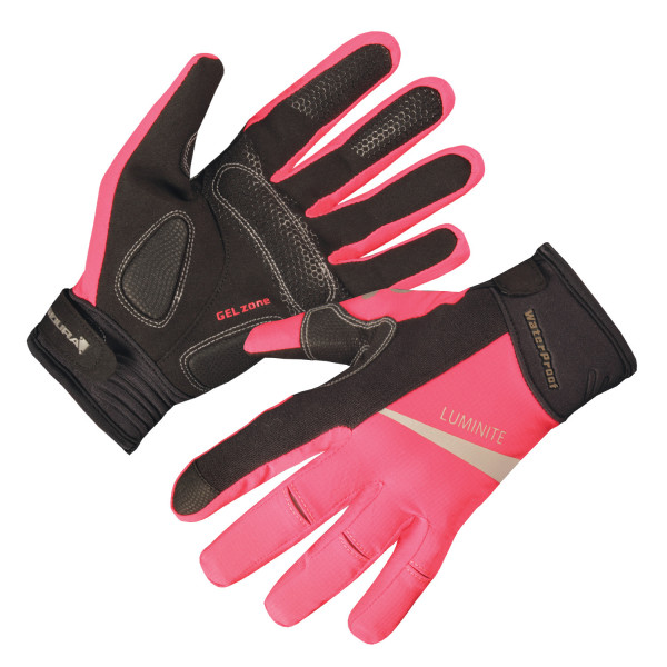 Wms Luminite Handschuh - Neon Pink
