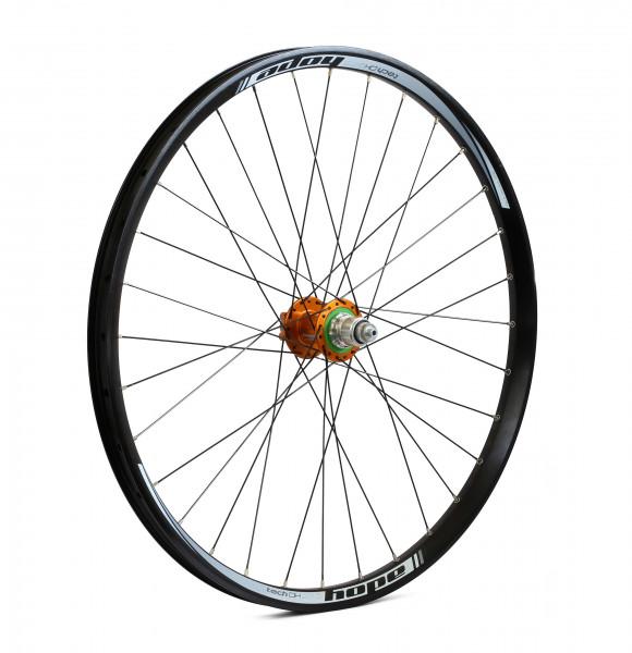 hope tech dh pro 4 hinterrad orange online kaufen bmo bike mailorder. Black Bedroom Furniture Sets. Home Design Ideas