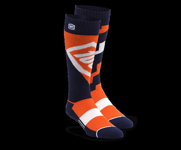 Moto Socken - Torque Orange