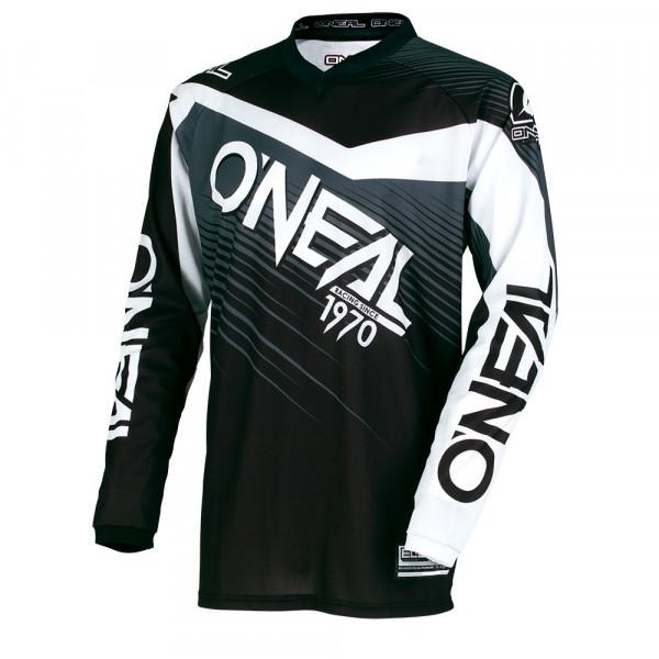 Element Racewear Long Sleeve Jersey - Youth - black/gray - 2018
