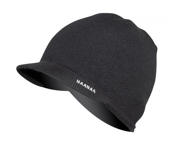 BaaBaa Merino Skip Beanie black