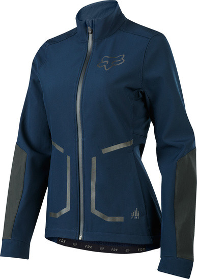 Attack Fire Jacke - Women - Navy