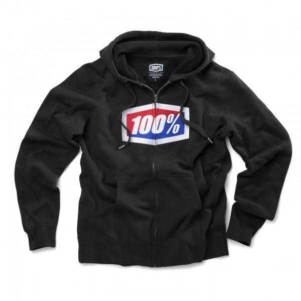 Official Zip Hoody - black