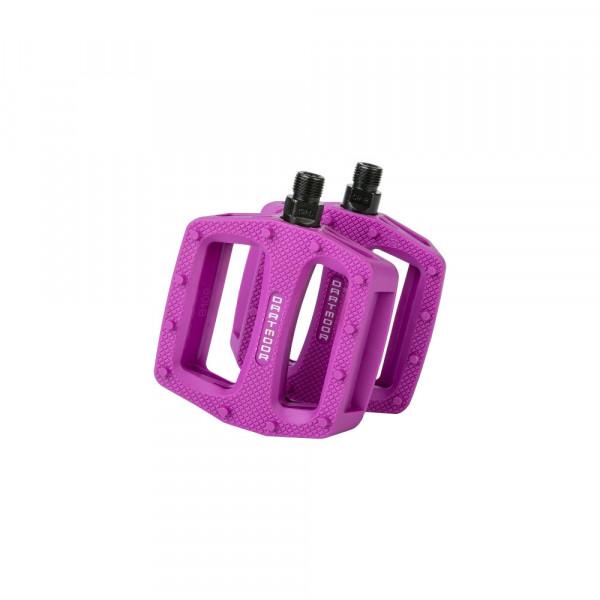 Cookie Plastik Plattform Pedale - Purple