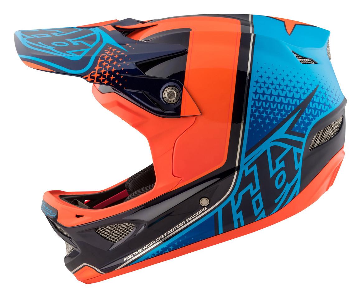 tld troy lee designs d3 carbon mips fullface helm starburst orange online kaufen bmo bike. Black Bedroom Furniture Sets. Home Design Ideas