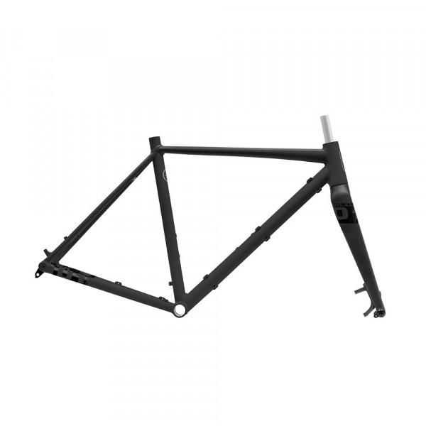 Gridd Gravel Rahmenset - black