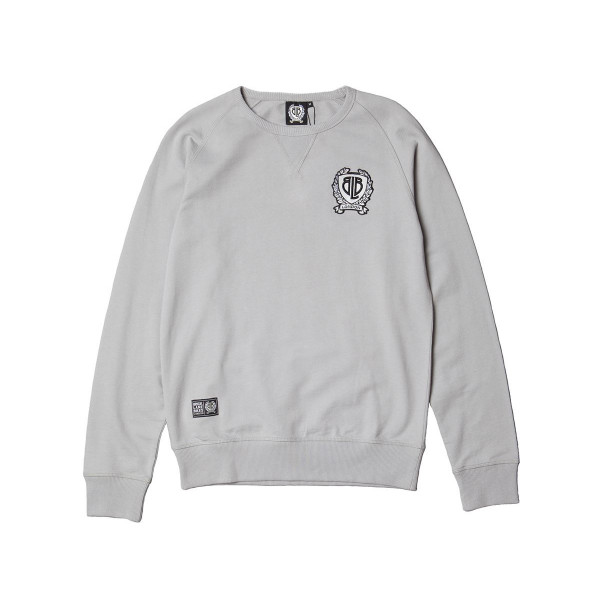 Badge Sweatshirt - grau