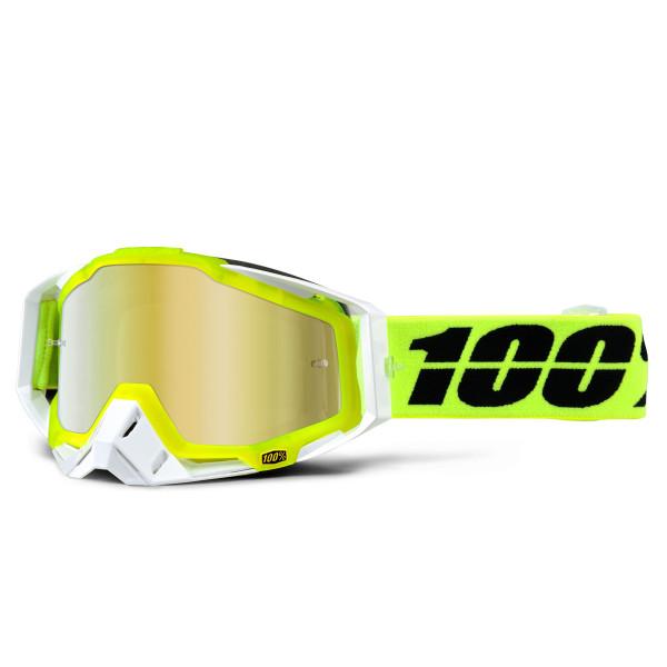 Racecraft Premium MX Goggle - Solar Mirror Lens