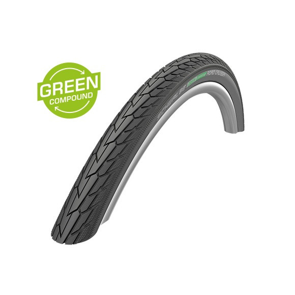 Road Cruiser Drahtreifen - 12x2.00 Zoll - K-Guard - Green Compound - schwarz