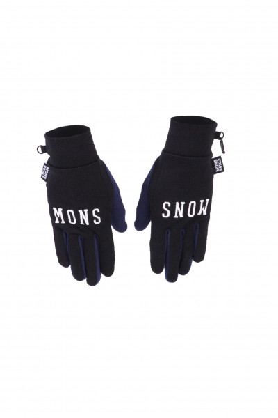 Gloves Black / Navy