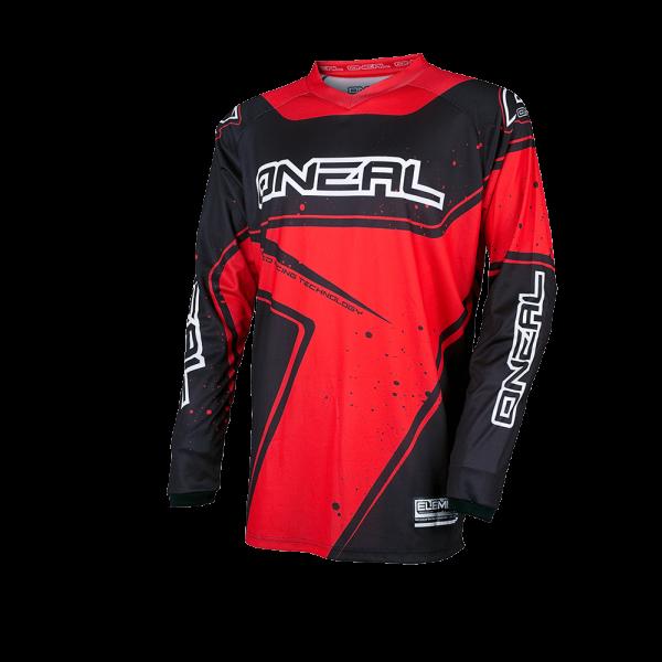 Element Jersey Racewear - black/red - 2017