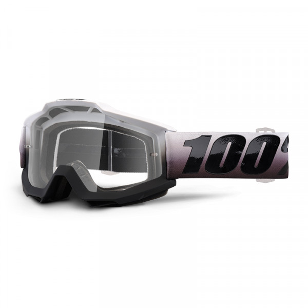 Accuri Goggle Anti Fog Clear Lens - Invaders