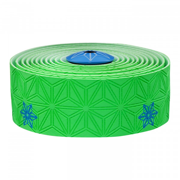 Super Sticky Kush Lenkerband - Neon Grün/Neon Blau Print