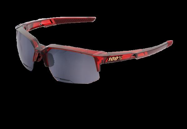 Speedcoupe Sportbrille - Black Mirror Lens - cherry palace