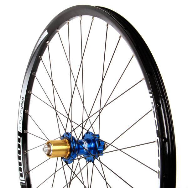 Tech Enduro Hinterrad 32 Loch Pro 4 - 27,5 Zoll blau