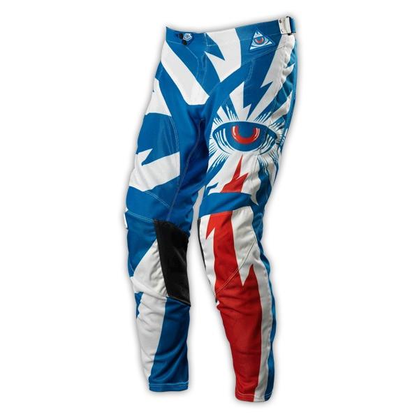 GP Air Pant Bike Hose - Cyclops Blue/White
