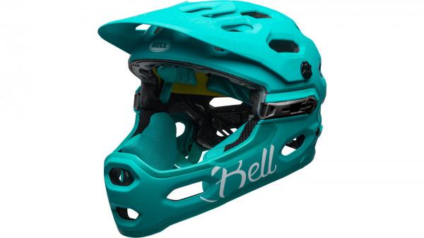 Bell SUPER 3R MIPS Joy Ride - Fullface Helm - Green